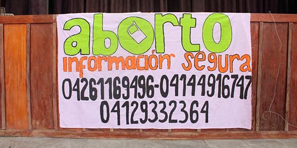 En Venezuela, la lucha por el derecho al aborto (I)