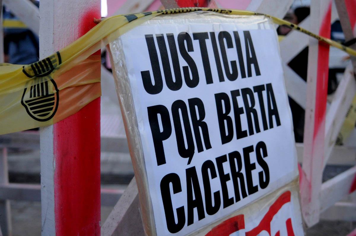 Comienza el juicio a los presuntos autores materiales del asesinato de Berta Cáceres