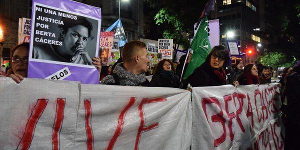 """""""Justicia para Berta es multiplicar sus revoluciones y sueños"""""""