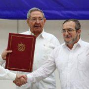 El principio del final del conflicto armado en Colombia