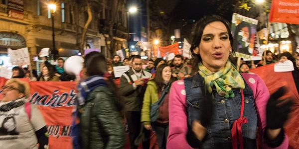 ¡Furia travesti! Se realizó la primera marcha nacional contra los travesticidios