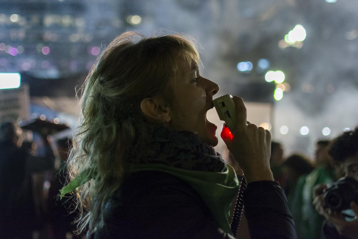 """Celeste Mac Dougall: """"La lucha feminista no tiene fronteras"""""""