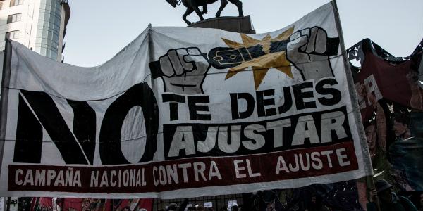 #NoTeDejesAjustar: Se lanzó la Campaña Nacional contra el Ajuste