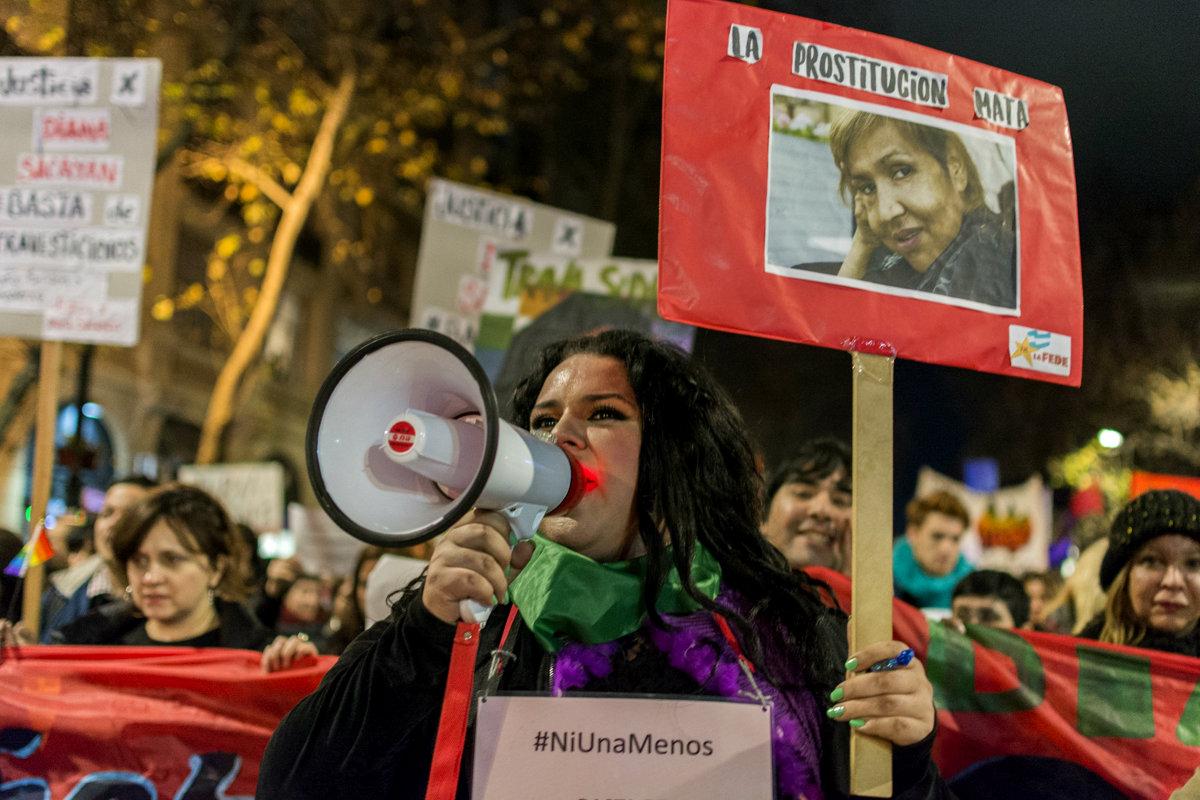 """Florencia Guimaraes: """"Nuestro colectivo sufre un verdadero travesticidio social"""""""