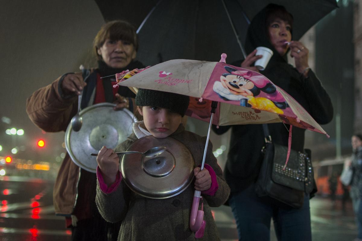 En las calles contra el tarifazo: voces que se hacen oír