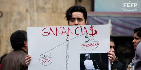 Chile despertó: 750 mil personas se manifestaron contra las AFP