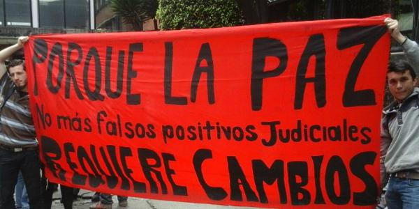 Falsos positivos judiciales: a un año de la detención de militantes sociales en Bogotá