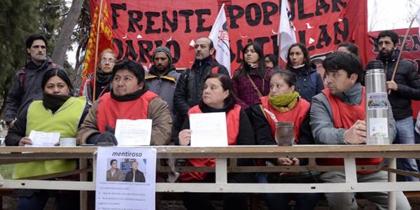 Río Negro: la Justicia pide indagatoria para militantes sociales