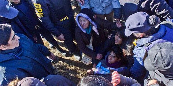Violento desalojo en comunidad mapuche a pedido de los Benetton