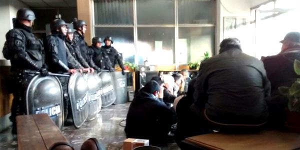 """Sobre la represión en la fábrica recuperada RB: """"Me hizo acordar a la Dictadura"""""""