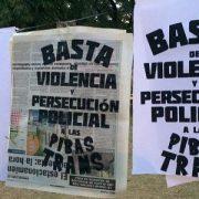 Solange Herrera: detención arbitraria y hostigamiento policial a una compañera trans en Constitución
