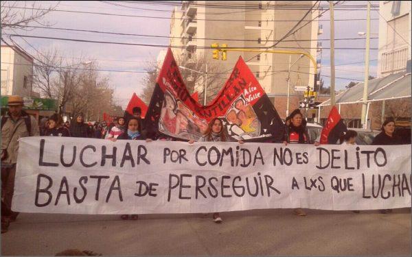 Movilizaciones en Chaco, Rio Negro y Capital contra la criminalización de la protesta