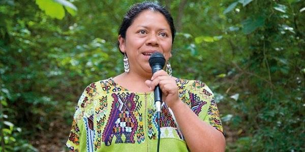 """Lolita Chavez Ixacaquic: """"Vemos con ojos de amor a la vida, por eso exigimos libertad y el fin de las violencias"""""""