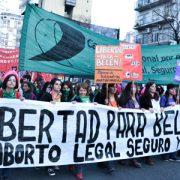 """Belén"": las feministas te vamos a liberar"