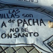 No a la Ley Monsanto de semillas