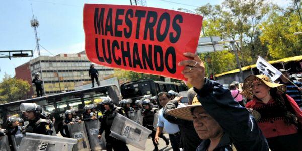 México: tres meses de huelga, cortes y acampes del movimiento magisterial