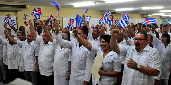 Cuba, potencia mundial en cooperación internacional