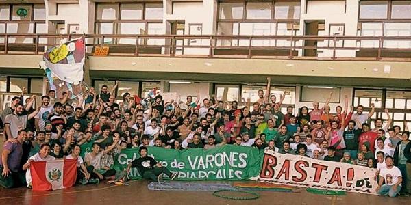Se realizó el I Encuentro latinoamericano de Varones Antipatriarcales