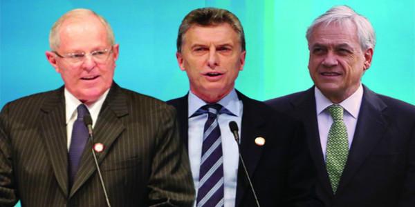"""Empresarios al poder: Los gabinetes """"técnicos"""" de PPK, Macri y Piñera"""