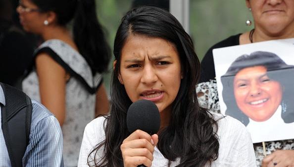 """Laura Zúñiga: """"Va a ser un grito desde Argentina para demostrar que no hay ni olvido ni perdón"""""""