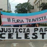 Contra la violencia policial y transfóbica, ¡justicia para Celeste!