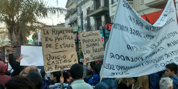 En Tigre toda represión es política