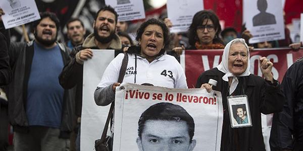 """Norita Cortiñas sobre Ayotzinapa: """"Así como vivos los llevaron, vivos los queremos"""""""