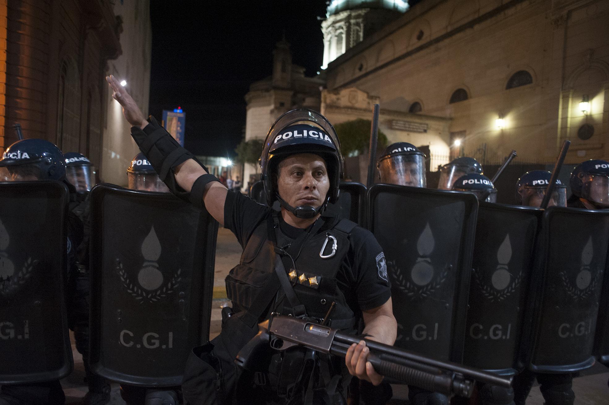 Represión en el ENM: no podrán silenciar tanta historia
