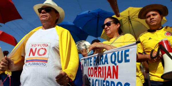 Después del NO en Colombia: insistir en la salida política, promover la participación de la sociedad