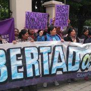 """Queremos justicia y la libertad para Reina Maraz"""