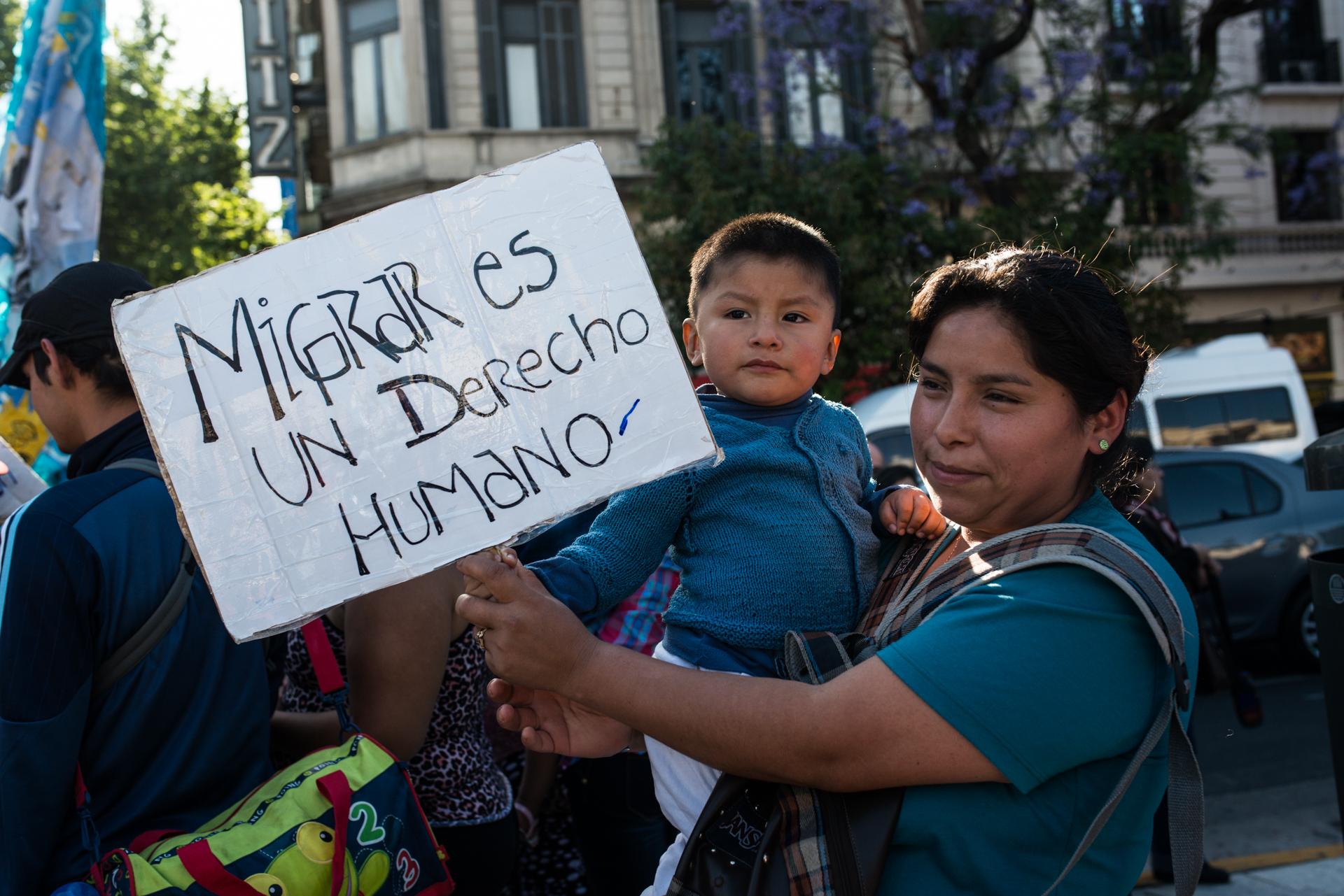 Migrar no es delito: comienza el diálogo con el gobierno