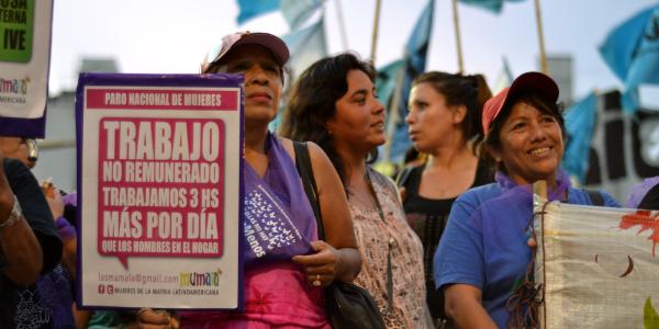 """""""En la Argentina sólo el 3% de los sindicatos están representados por mujeres"""""""