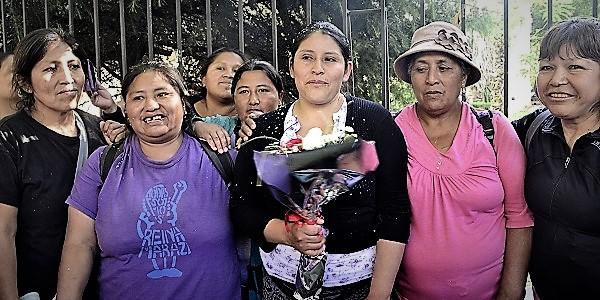 """Reina Maraz: """"hoy voy hablar porque sé que no estoy sola"""""""