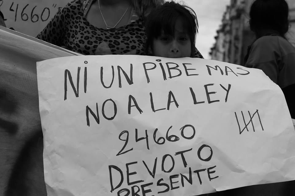 """""""Hoy en la Argentina hay menores de 14 años condenados"""""""