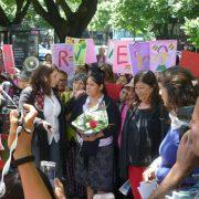Reina Maraz en libertad, una victoria para las oprimidas