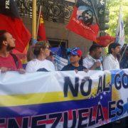 #VenezuelaEsMercosur: Acto de apoyo frente a la cancillería argentina