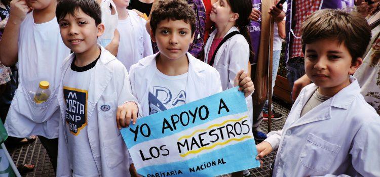 Juegos de guerra, o la postura del macrismo contra las y los docentes