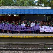#Trenazo: la caravana feminista que agitó el conurbano