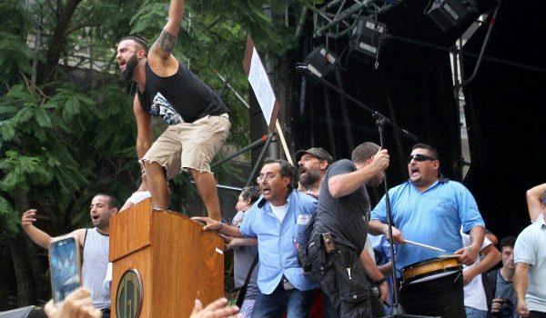 El primer paro nacional de la era Macri