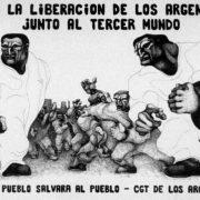 """""""Reinventar la lucha"""": homenaje por la fundación de la CGT de los Argentinos"""