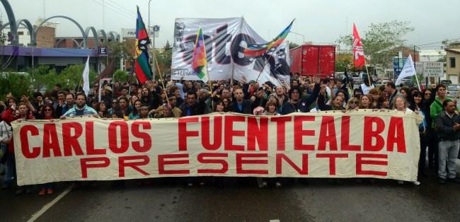 """Carlos Fuentealba: """"El dolor colectivo se transforma en acción"""""""