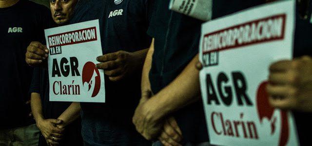 El desalojo de AGR-Clarín: Ni triste, ni solitario, ni final