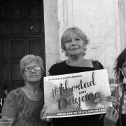 """Dahyana en libertad: """"la lucha de las mujeres organizadas nos lleva a ganar las batallas"""""""