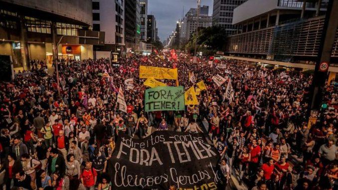Brasil: Golpe al golpe.