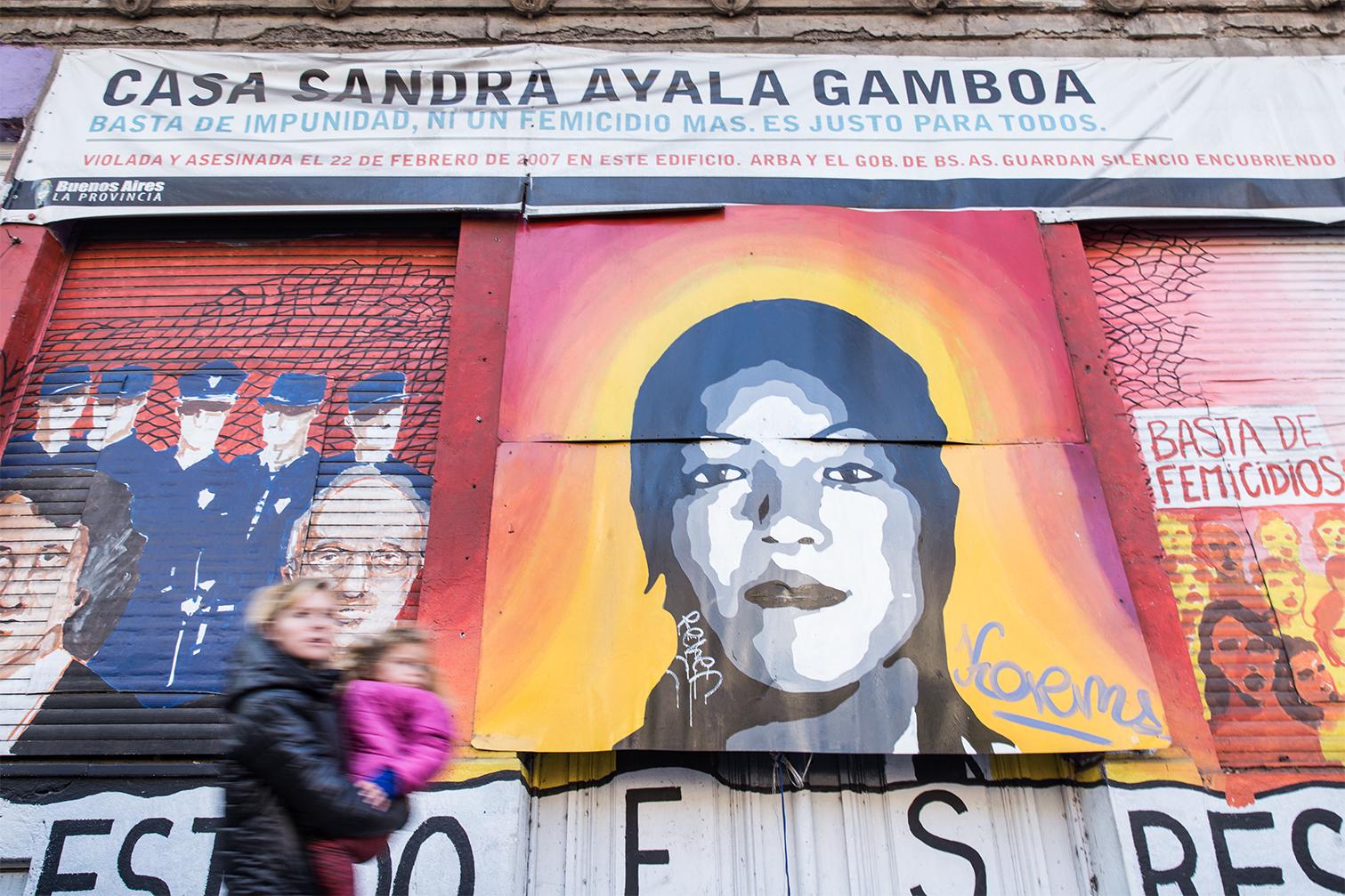 Todas somos Sandra Ayala Gamboa