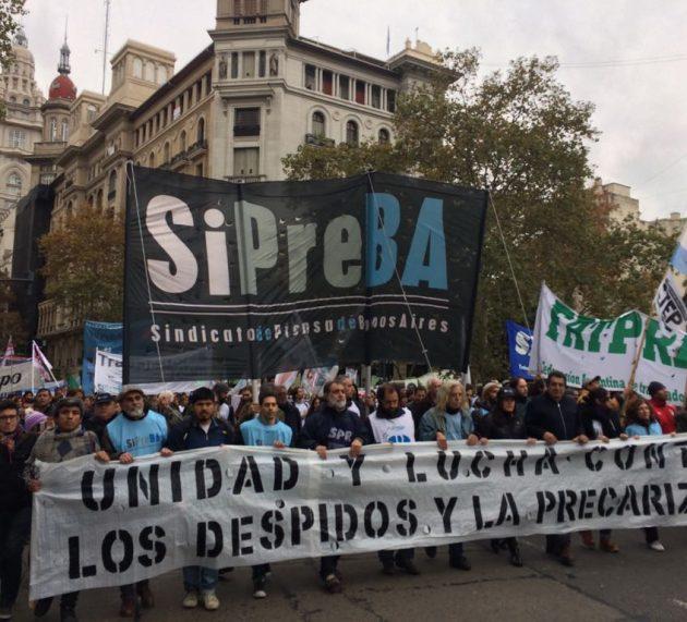El Día de los y las periodistas nos encontró luchando en las calles