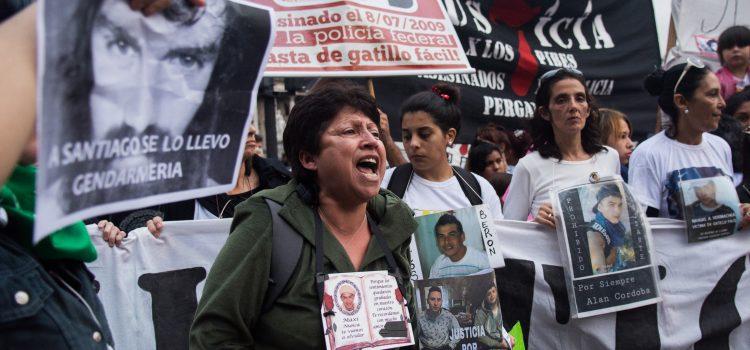 Marcha Nacional Contra el Gatillo Fácil: Colectivizar el dolor