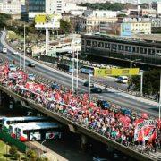 Día del patrono del trabajo sin milagros: masiva movilización por la Emergencia Social y Alimentaria
