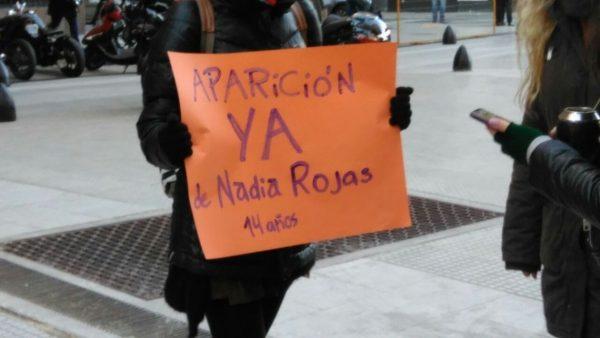 Segunda desaparición de Nadia Rojas: las complicidades son responsables