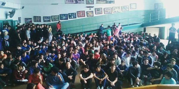Estudiantes secundarios contra la reforma educativa: que se oiga su voz